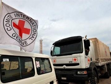 الصليب الأحمر ينفي حصول مجاعة في بلدة مضايا بريف دمشق ... المساعدات الإنسانية موجودة