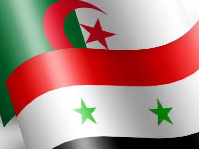 تحيا سوريا تحيا الجزائر