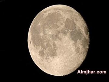 وجود الماء على القمر