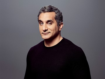 The Arab community is looking forward to the expected show of Egyptian comedian Bassem Youssef in California