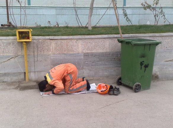 مهنة عامل النظافة موضوع للنقاش